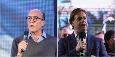 Martínez lidera encuesta de cara a octubre con el 27% y le sigue Lacalle Pou con 23%