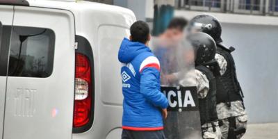 La policía realizó un gran dispositivo en búsqueda de armas y drogas en locaciones próximas al Hipódromo de Maroñas