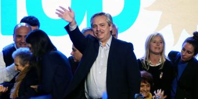 Alberto Fernández obtuvo un contundente triunfo en las primarias en Argentina