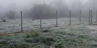 INUMET anunció descenso de temperaturas hasta el jueves
