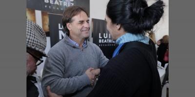 Lacalle Pou, presentó su renuncia al Senado y anunció que no se amparará en el subsidio
