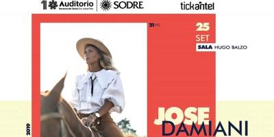 """La cantante Jose Damiani presenta su primer disco """"Viviendo hoy"""" en el Auditorio"""