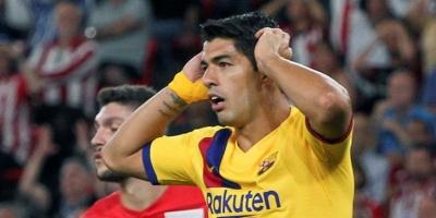 Sin Lionel Messi el Barcelona cayó ante Athletic Bilbao en la apertura de la liga española. Luis Suárez resultó lesionado