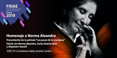 """La intendencia de Montevideo proclamó """"visitante ilustre"""" a la actriz argentina Norma Aleandro"""