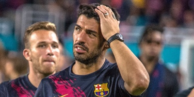 Luis Suárez tiene una lesión en el sóleo de la pierna derecha