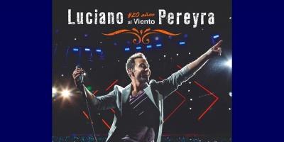Luciano Pereyra llegó Uruguay para presentar su show del 14 de setiembre en el Antel Arena