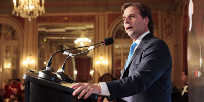 Lacalle Pou prometió reducir costos de producción en encuentro con empresarios argentinos