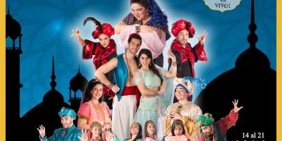 """Reestrenan """"La lámpara mágica: el nacimiento de Aladdin"""" por vacaciones de primavera"""