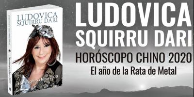 """Ludovica Squirru presentará libro sobre """"el año de la Rata de Metal"""""""