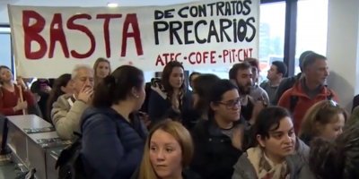 Funcionarios del Ministerio de Educación y Cultura respondieron a Muñoz