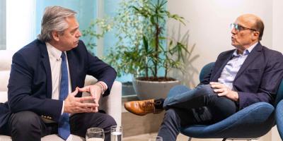 Martínez y el candidato argentino Fernández se reunieron previo a elecciones
