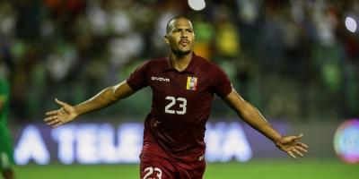 Salomón Rondón metió dos goles y Venezuela goleó 4-1 a Bolivia