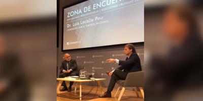 """Lacalle Pou dispuesto a """"debate abierto"""" con su contrincante ante una segunda vuelta electoral"""