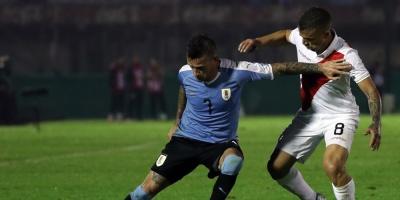 Uruguay derrota a Perú con golazo de Brian Rodríguez