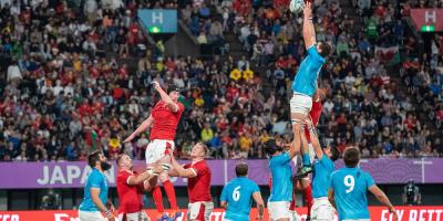 Uruguay se despidió del mundial de Rubgy con una derrota frente a Gales