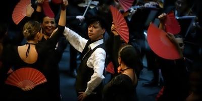 Gala de música, canto y danza: zarzuela y la música de España en el Auditorio Vaz Ferreira del Sodre