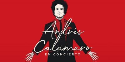 """Andrés Calamaro llega al Antel Arena con su gira  """"Cargar la suerte"""""""