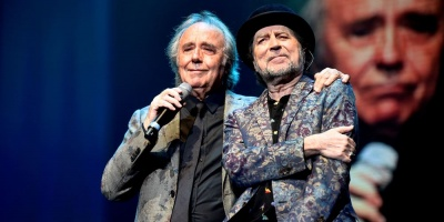 Serrat y Sabina realizan concierto Argentina su nueva gira juntos