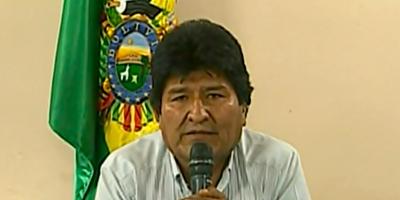 El ex presidente de Bolivia Evo Morales solicitó asilo en México