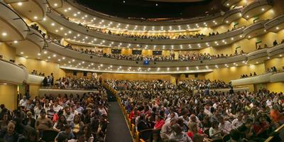 """El Sodre investiga las causas por las cuales se produjo un """"desprendimiento de areniscas"""" del dintel de una de las escaleras del Auditorio Adela Reta"""