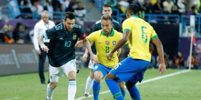 Messi decidió el superclásico de las Américas: Argentina 1 - Brasil 0