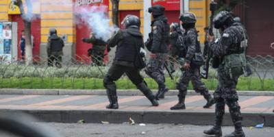 Fuertes enfrentamientos en la ciudad boliviana de Cochabamba con heridos