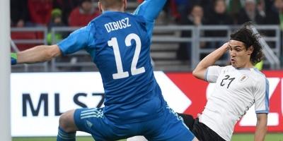 Cavani: Marcar goles en la selección siempre es algo especial