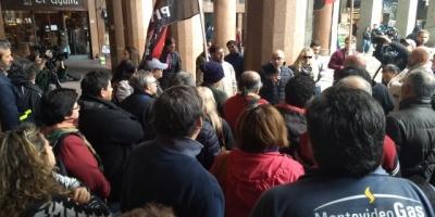 Fueron reintegrados los trabajadores despedidos por Petrobras en MontevideoGas