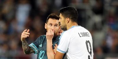 Fecha Fifa: Uruguay- Argentina empataron 2 a 2 en partido amistoso internacional disputado en Tel Aviv