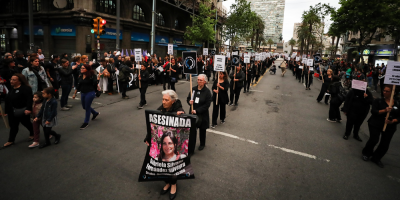 Miles de mujeres marcharon contra la violencia de género