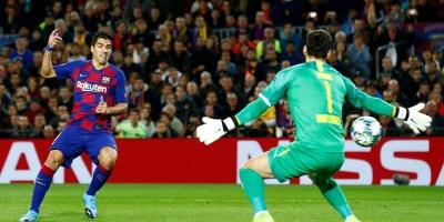 Champions: Luis Suárez anota para victoria del Barcelona