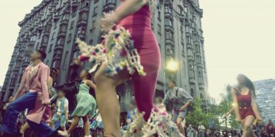 Desfile de las promesas por 18 de Julio