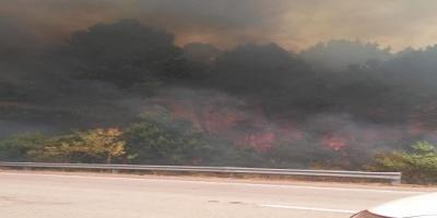 Rocha: Bomberos no logran controlar el incendio desatado en La Esmeralda