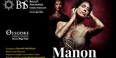 """La Prima Ballerina uruguaya María Noel Riccetto se despide del escenario con """"Manon"""" de Massenet"""