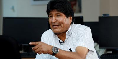 """Morales dice que orden de arresto """"no procede"""" porque sigue siendo presidente"""