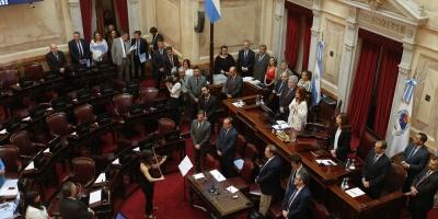 Gobierno argentino logra aprobar en el Senado ley de emergencia por la crisis