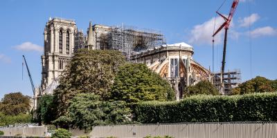Notre Dame de París se queda sin misa de Navidad por primera vez en 216 años