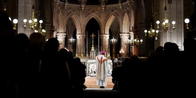 Una veintena de asistentes a una misa de Navidad en Francia hospitalizados