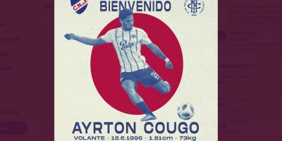 Cougo primera contratación de Nacional para el 2020