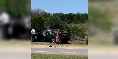 Punta del Este: Investigan un grave accidente en el que una mujer fue atropellada