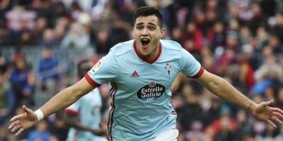 """Maxi Gómez:""""Estoy muy contento de volver a jugar y marcar"""""""