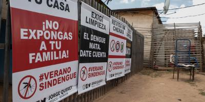Asunción y Central en el punto de mira de los casos de dengue de Paraguay