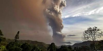 Al menos 6 uruguayos se encuentran varados tras erupción de un volcán en Filipinas