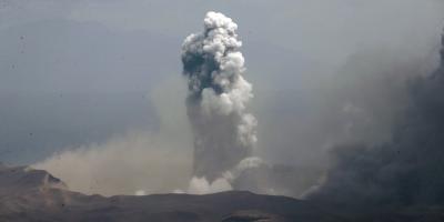 Más de 24.500 evacuados en Filipinas por el volcán Taal, que ya escupe lava