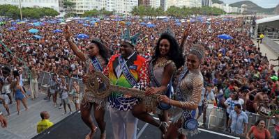 Río coronó al rey Momo y da comienzo a 50 días de carnaval