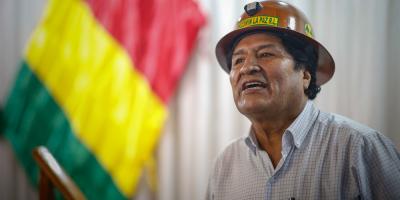 """Bolivia pide a Argentina impedir los llamados a """"subversión"""" de Evo Morales"""