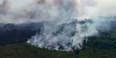 Está controlado el incendio en la zona de Melilla tras afectación a 350 hectáreas