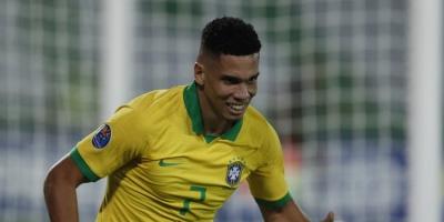 A falta de Reinier bueno fue Paulinho con gol para triunfo de Brasil