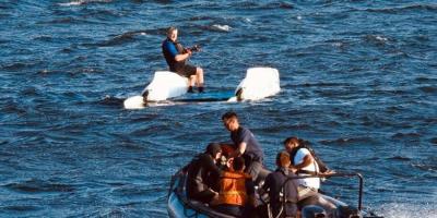 La Armada Nacional rescató 25 personas en la última semana