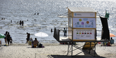Este jueves no habrá servicios de guardavidas en ninguna playa de Montevideo